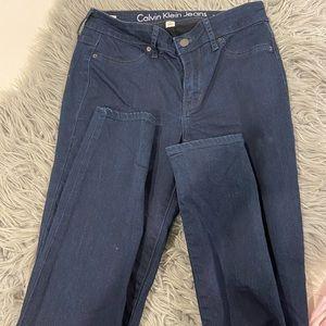 Calvin Klein blue denim skinny jeans 28 8-10